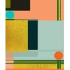 Marmont Hill 'City on a Hill IV' by Keren Toledano Graphic Art on Wrapped Canvas