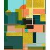Marmont Hill 'City on a Hill' by Keren Toledano Graphic Art on Wrapped Canvas