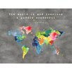 Marmont Hill 'The World Is Mud II' by Keren Toledano Graphic Art on Wrapped Canvas
