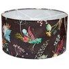 Hazelwood Home 45cm Edwardian Blooms Fabric Drum Lamp Shade