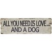 Hazelwood Home All You Need Wall Plaque