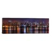 East Urban Home 'New York Skyline Cityscape (Night)' Photographic Print on Canvas