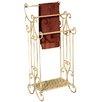 ChâteauChic Freestanding Triple Freestanding Towel Rack