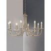 Franklite Carousel 8 Light Candle Chandelier