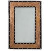 17 Stories Rectangle Metal Wall Mirror