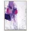 Artist Lane 'Hot Mess' by Julie Ahmad Framed Painting Print on Wrapped Canvas