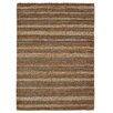 August Grove West Yellowstone Hand-Woven Brown Rug