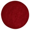 Red Barrel Studio Byrne Hand-Woven Wool Red Rug