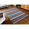 Metro Lane Withnell Hand-Woven Wool Multi-Coloured Rug
