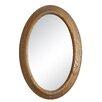 Loon Peak Sonoma Brown Oval Mirror
