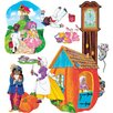 Little Folks Visuals Nursery Rhymes Bulletin Board Cut Out Set