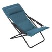 Lafuma Transabed Deck Chair with Cushions