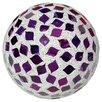 Home Essence Large Mosaic Polyform Balls Sculpture (Set of 4)