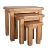 Home & Haus Malvern Occasional 3 Piece Nest of Tables