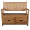 Home & Haus Malvern Occasional Wood Storage Hallway Bench