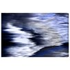 Oliver Gal 'Violone Navy' Graphic Art on Wrapped Canvas