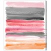 Oliver Gal 'Lares Sunset' Painting Print on Wrapped Canvas