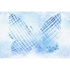 Marmont Hill Butterfly Sketch Graphic Art on Wrapped Canvas