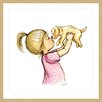 Marmont Hill 'Puppy Loves Girl' by Phyllis Harris Framed Graphic Art