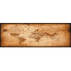 NEXT! BY REINDERS World Map Graphic Print on Canvas