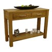 Hazelwood Home 2 Drawer Console Table