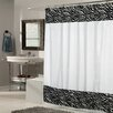 Sweet Home Collection Zebra Fabric Shower Curtain