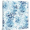 Marmont Hill 'Blue Blossoms Painting Print on Wrapped Canvas