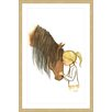 Marmont Hill 'Equestrian Girl' by Phyllis Harris Framed Graphic Art