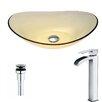 ANZZI Mesto Oval Vessel Bathroom Sink