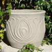 Designer Stone, Inc Costello Cast Stone Pot Planter