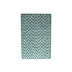 Bakero Ziggy Hand-Tufted Turquoise Area Rug