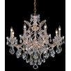 House of Hampton Milan 9-Light Crystal Chandelier