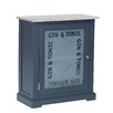 Hazelwood Home Chalky Gin and Tonic Bar Cabinet