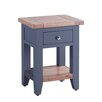 Hazelwood Home Chalky 1 Drawer 1 Shelf Bedside Table