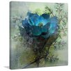 Marmont Hill 'Calm Blues' by Irena Orlov Painting Print on Wrapped Canvas