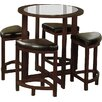 Red Barrel Studio Plumwood 5 Piece Counter Height Dining Set