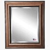 Darby Home Co Antique Bronze and Black Wall Mirror