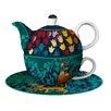 Goebel Rosina Wachtmeister 3 Piece Teapot Set