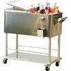 Sunjoy 80 Qt. Grant Stainless Steel Cooler
