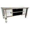 Hazelwood Home Glam TV Stand for TVs up to 48""