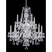 House of Hampton Edison 12-Light Crystal Chandelier