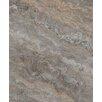 "Seven Seas Silver Trevertine 6"" x 6"" Marble Field Tile in Brown"