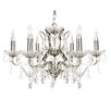 Searchlight 6 Light Candle Chandelier