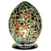 House Additions Mosaic Glass Egg 30cm Novelty Lamp