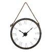 Laurel Foundry Oversized 91cm Hung On Rope Wall Clock