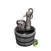 Blagdon Vintage Pump and Barrel Fountain with LED Light