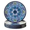 "Certified International Talavera 11"" Heavy Weight Melamine Dinner Plate (Set of 6)"