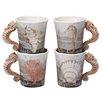 Beachcrest Home Adler 4 Piece 20 Oz. Mug Set
