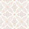 Hazelwood Home Kismet Off Beat Ethnic 10.05m x 52cm Floral Roll Wallpaper