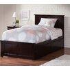 Harriet Bee Alanna Traditional Platform Bed with Underbed Storage